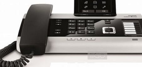 Gigaset DX800A all in one - fixed, IP and ISDN desktop phone [UK version]